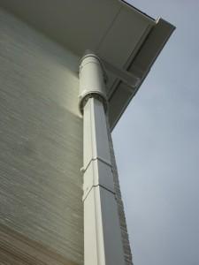 雨といアンテナ施工例(60角竪樋)