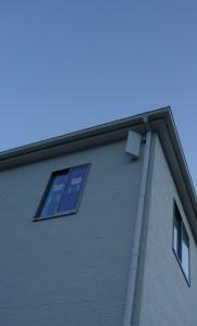 垂直偏波専用アンテナ施工例